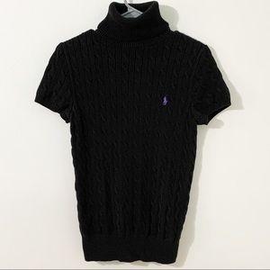 Polo Ralph Lauren Short Sleeve Turtleneck Sweater